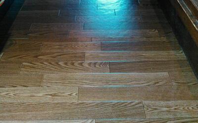 床はがれ修繕後